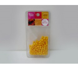 Donna Collection Hair Beads Yellow