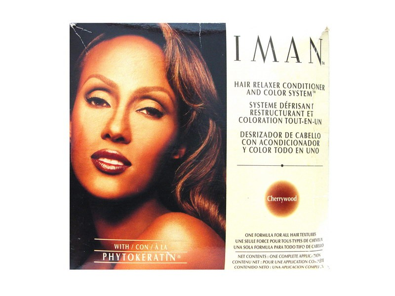 Iman Hair Relaxer Conditioner And Color System Cherrywood