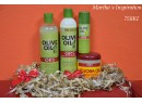 ORS Olive Oil Creamy Aloe Shampoo, Incredibly Rich Moisturizing Hair Lotion, Olive Oil Nourishing Sheen Spray and Jojoba Oil